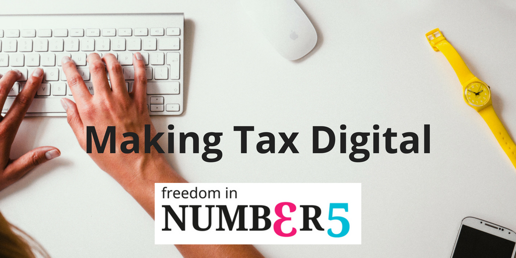 What does 'Make Tax Digital' mean for small businesses?