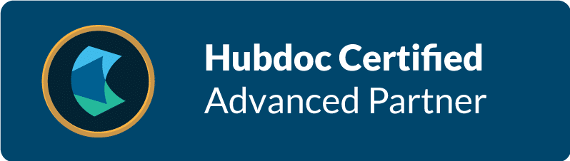 Hubdoc Advanced Partner logo