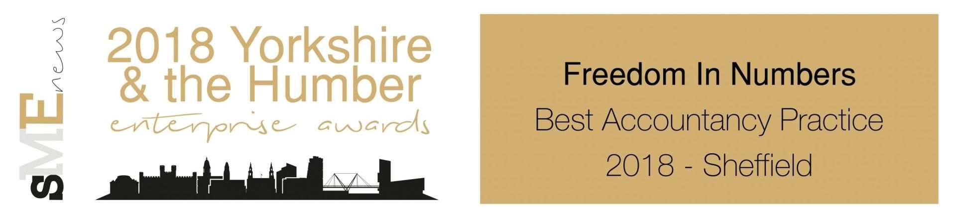 SME Yorkshire & Humber award 2018