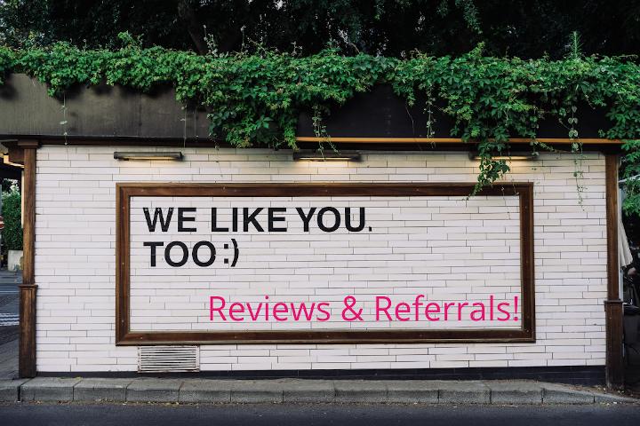 Reviews Referrals