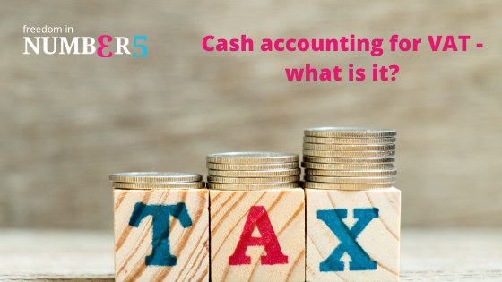 What are the benefits of calculating VAT on a cash basis?