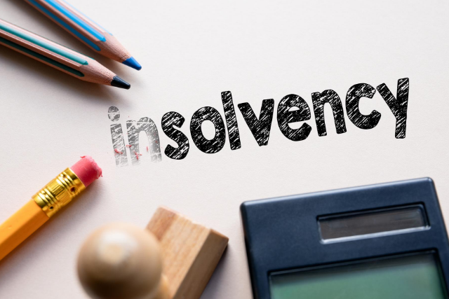 closing down a solvent business, closing down an insolvent business