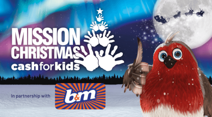 Supporting Mission Christmas Cash for Kids