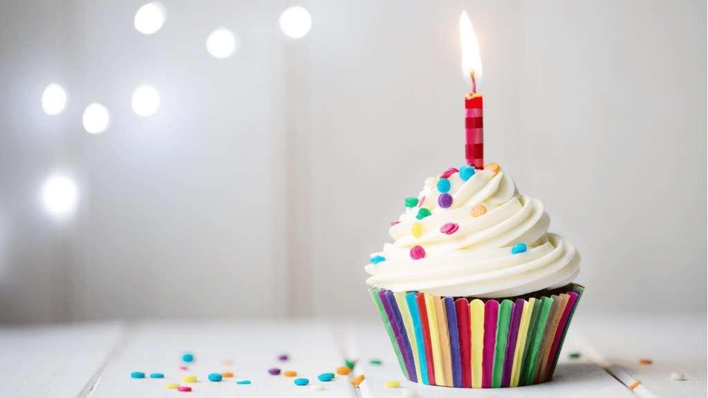 Birthday blog header