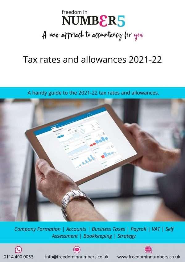 Tax rates 2021-22