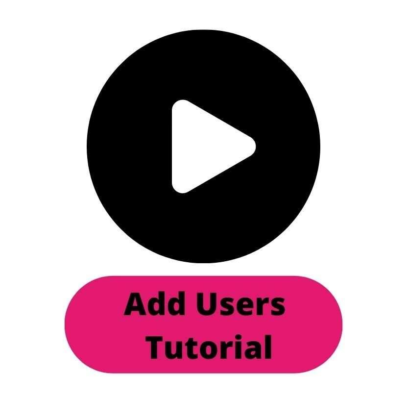 Add Users Tutorial