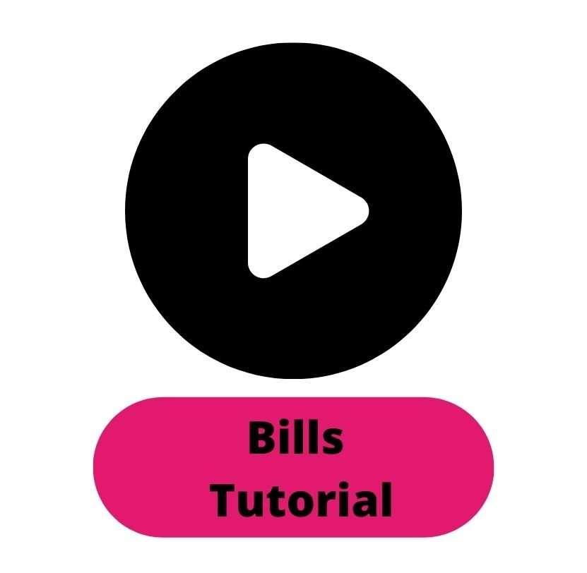 Bills Tutorial