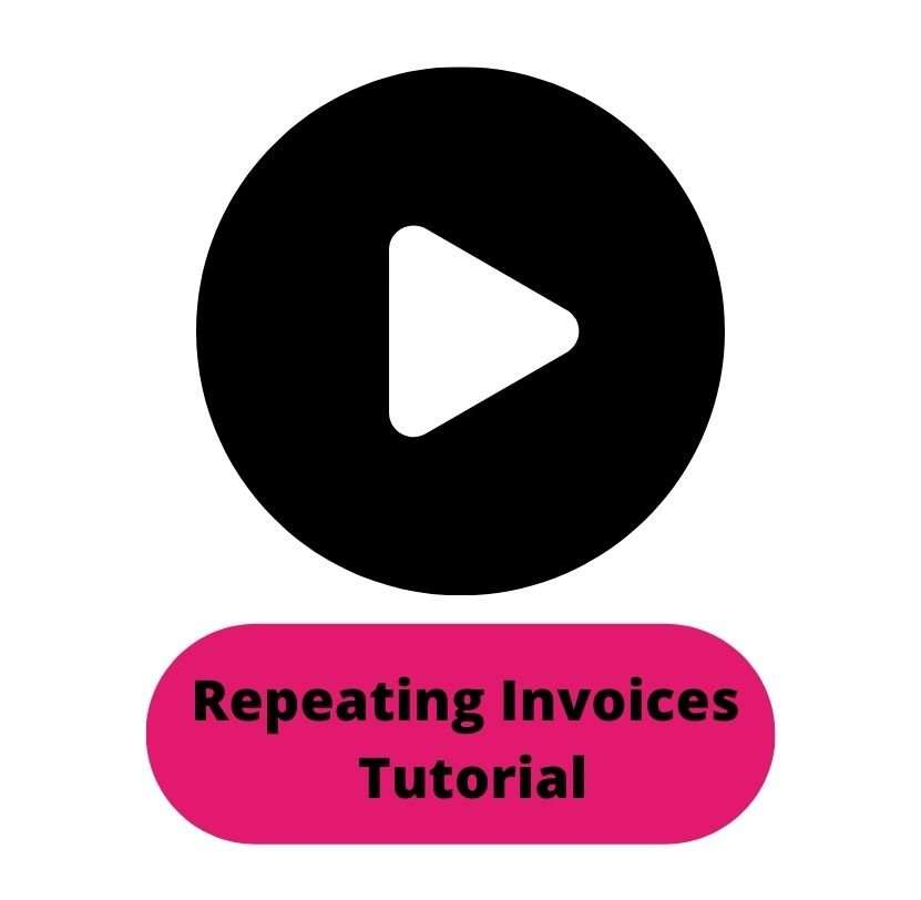 Repeating Invoices Tutorial